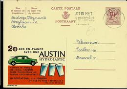 Publibel Obl. N° 2115 ( AUSTIN Hydrolastic - Cars - Auto- Voiture) Obl. Leuven - Entiers Postaux
