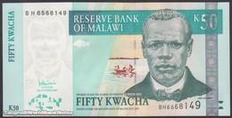 TWN - MALAWI 53c - 50 Kwacha 31.10.2007 Prefix BH UNC - Malawi