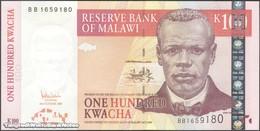 TWN - MALAWI 54a - 100 Kwacha 31.10.2005 Prefix BB UNC - Malawi
