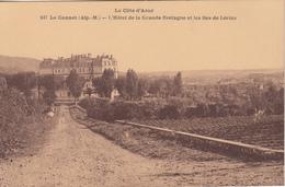 LE CANNET (Alp.M.)  L'Hôtel De La Grande Bretagne Et Les Iles De Lerins - Le Cannet