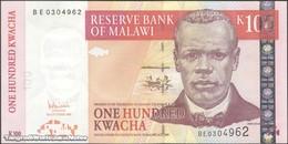 TWN - MALAWI 54a - 100 Kwacha 31.10.2005 Prefix BE UNC - Malawi