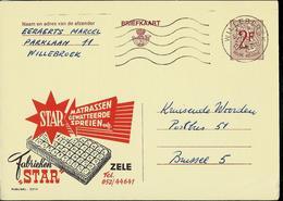 Publibel Obl. N° 2214 ( Matelas STAR- Zele) Obl. Willebroek - Entiers Postaux