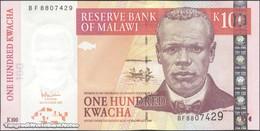 TWN - MALAWI 54a - 100 Kwacha 31.10.2005 Prefix BF UNC - Malawi