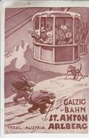 Galzig Bahn ST ANTON ARLBERG - Carte Visite - St. Anton Am Arlberg