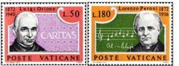 1972- VATICANO - DON ORIONE E PEROSI - 532/33 - NUOVI MNH - Vatican