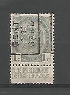 België Handrol Voorafstempeling 1617 A & B Gent 1911 Gand (3x) - Precancels