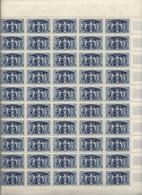 3 Feuilles Complètes De  50 Timbres Du N° 850,851 Et 852 75ème Anniversaire De L'U.P.U. - Full Sheets