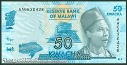 TWN - MALAWI 58a - 50 Kwacha 1.1.2012 Prefix AA UNC - Malawi