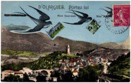 34 D'OLARGUES, Portez Lui Mon Souvenir - Frankrijk