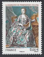 France - 2014 - Y&T 4887 ** (MNH) - Marquise De Pompadour - Nuovi