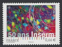 France - 2014 - Y&T 4886 ** (MNH) - Cinquantenaire De L'INSERM - Nuovi