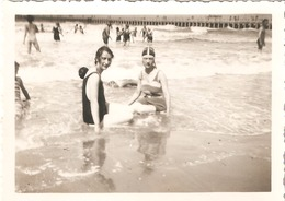 Photo Foto (6 X 8,5 Cm) Ostende Oostende 1933 Badpak - Oostende