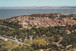 17.  ILE D'OLERON.  CHÂTEAU D'OLERON. VUE AERIENNE. LE CAMPING ESSI. ANNÉE 1982 + TEXTE - Ile D'Oléron