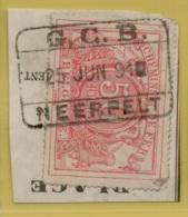 FEA-1919  GRAND CENTRAL BELGE    GCB/NEERPELT   Op  _fragment Op Nr 11 - Chemins De Fer