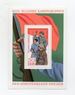 Germania - DDR - 1973 - Blocco Foglietto - Gruppi Operai Combattenti - Nuovo - (FDC21284) - [6] Democratic Republic