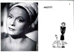 Circa 1955 1960  PARIS THEATRE DE L'EMPIRE  Paris « LA REVUE DE L' EMPIRE » COMEDIE MUSICALE AVEC ARLETTY   PROGRAMME - Programme