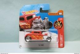 Hot Wheels - '32 FORD Hot-Rod 1932 - 2017 HW Flames HOTWHEELS Short Card EU 1/64 - HotWheels
