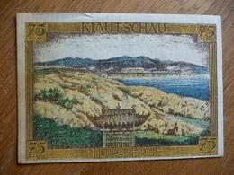 (3) Notgeld Deutsch-Hanseatischer Kolonialgedenktag 75Pfg KIAUTSCHAU 1921 - 1° Guerre Mondiale