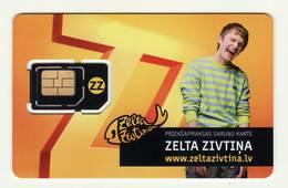 LATVIA GSM SIM MINT! - Lettonie