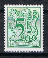 Belgie OCB D 80 (**) - Officials