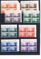 "1941 ""Brotherhood"" Italy-Germany. Sassone 171-177,A45 - Libye"