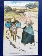 """""""Laitière Hollandaise Avec Attelage D'âne""""--(2122)---1909 - Autres Illustrateurs"""
