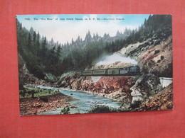 Train  The Old Man Of Cow Creek Southern Oregon    Ref 3983 - Treinen