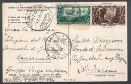 Regno, Cartolina Per Espresso Del 1934         -CP40 - 1900-44 Victor Emmanuel III.