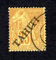 Tahiti 1893 - 25 Cts - Used Stamps