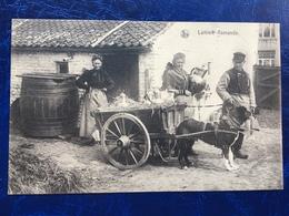 """""""Laitière Flamande Et Son Attelage De Chien Avant Son Départ""""(2125) - Artisanat"""