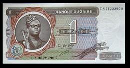# # # Banknote Zaire 1 Zaire 1977 UNC # # # - Zaïre