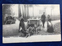 """""""Laitières Et Leur Attelage De Chiens Après Procès Verbal""""(2126)--1919--Bruxelles - Craft"""