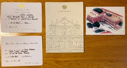 Conjunto De 4 Cartões De MACAU Governador / Policia Segurança Publica / Governo VASCO ROCHA VIEIRA 1990s (Portugal) - Cina