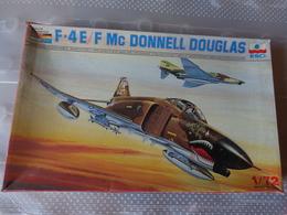 Maquette Avion Militaire-en Plastique-1/72 Esci F 4 E/f Mc Donnell Douglas  Ref  9027 - Airplanes