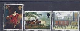 200033599  INGLATERRA.  YVERT   Nº  491/3  **/MNH - 1952-.... (Elizabeth II)