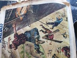 RADAR 57 /CROIX CHAPEAU /COTY LUXEMBOURG /GRIPPE ATOMIQUE /TOUR FRANCE MALLEJAC BOBET ROBIC ASPRO /ORCHIDEE - 1900 - 1949