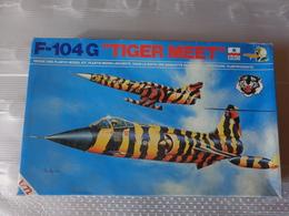 Maquette Avion Militaire-en Plastique-1/72 Esci F 104 G Tiger Meet  Ref  9013 - Airplanes