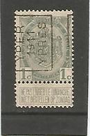 België Handrol Voorafstempeling 1665 A Yper 1911 Ypres - Precancels