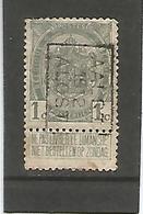 België Handrol Voorafstempeling 1809 B Aalst 1912 Alost - Precancels