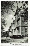 Yvoir - Château Bel Air - Circulée - Edit. Imprimerie-Papeterie R. Gillet - 2 Scans - Yvoir