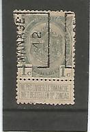 België Handrol Voorafstempeling 1850 A & B Manage 12 - Precancels