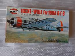 Maquette Avion Militaire-en Plastique-1/72 Airfix Focke Wulf Fw  190 A-8    Ref 02063 - Airplanes