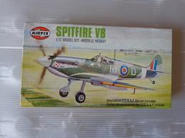 Maquette Avion Militaire-en Plastique-1/72 Airfix Spitfire - Vb   Ref 02046 - Airplanes