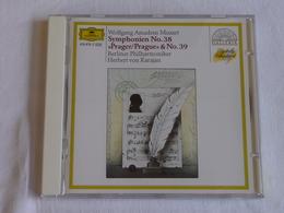 MOZART, Symphonies Nos 38 Prague & 39, Herbert Von Karajan - Classique