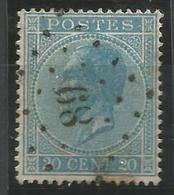BELGIQUE - Oblitération(s) LP89 COUVIN - Postmarks - Points