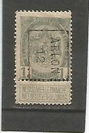 België Handrol Voorafstempeling 1884 B Arlon 12 - Precancels
