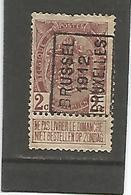 België Handrol Voorafstempeling 1937 A Brussel 1912 Bruxelles - Precancels