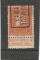 België Handrol Voorafstempeling 2137 B Dixmude 1913 - Precancels