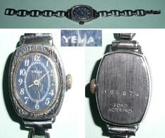 Ancienne Montre Femme, Mécanique, YEMA - Horloge: Antiek