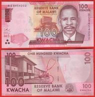 Malawi 100 Kwacha 2017 P-65d UNC - Malawi